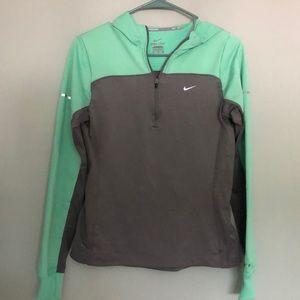 Nike running sweater